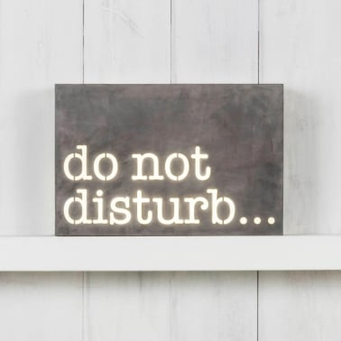 Classic Metall Ljuslådor - Do Not Disturb