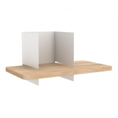 Clip Wall Shelf - White