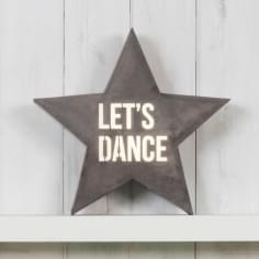 Classic Stjärna Metall Light Box - Let's Dance