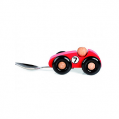 Kids First Spoon Racing Car - Red