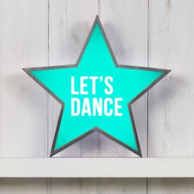 Classic Stjärna Light Box - Let's Dance