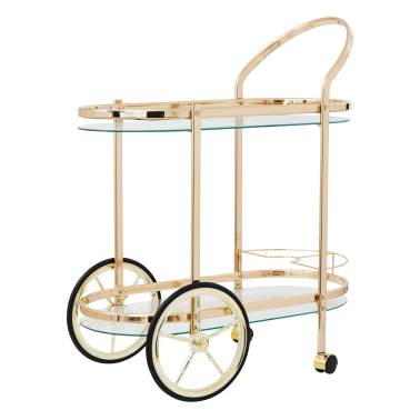 Cocktail Cart - Guld