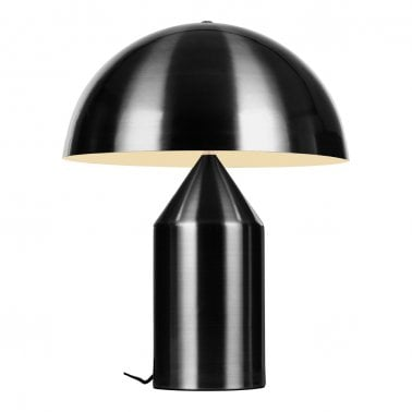 Comet Retro Metall Bordslampa, Svart